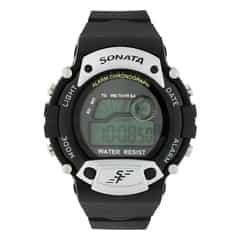 SF by Sonata digital watch for Men-NG7982PP02J