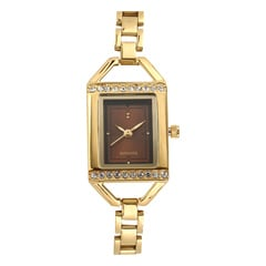 Sonata Brown Dial Analog Watch For Women