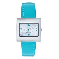Sonata Silver White Dial Analog Watch for Women - NG8965SL01AC