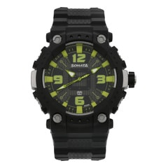 SF Black Dial Analog Watch for Men