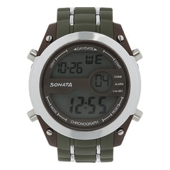 SF by Sonata Grey And Brown Dial DigitalWatch for Men - NH77034PP02