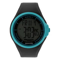 SF by Sonata Blue Dial Digital Watch for Men