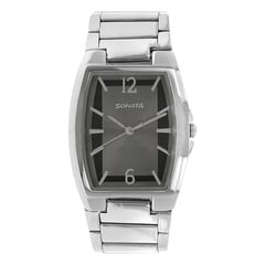 Sonata Grey Dial Analog Watch For Men