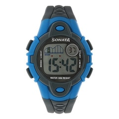 SF by Sonata Grey Dial DigitalWatch for Women - 87012PP03