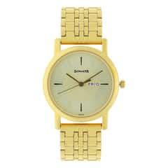 Sonata Cream dial Analog Watch for Men