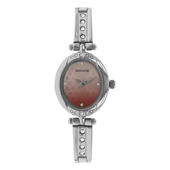 Sonata Pink Dial Analog Watch for Women