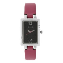 Sonata Black Dial Analog Watch for Women