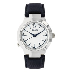 Sonata White Dial Analog Safety Watch for Women