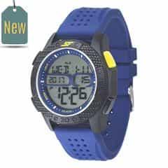 SF Carbon II Series Blue Strap Unisex Digital Watch