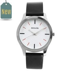 Sonata Nxt White Dial Analog Watch for Men