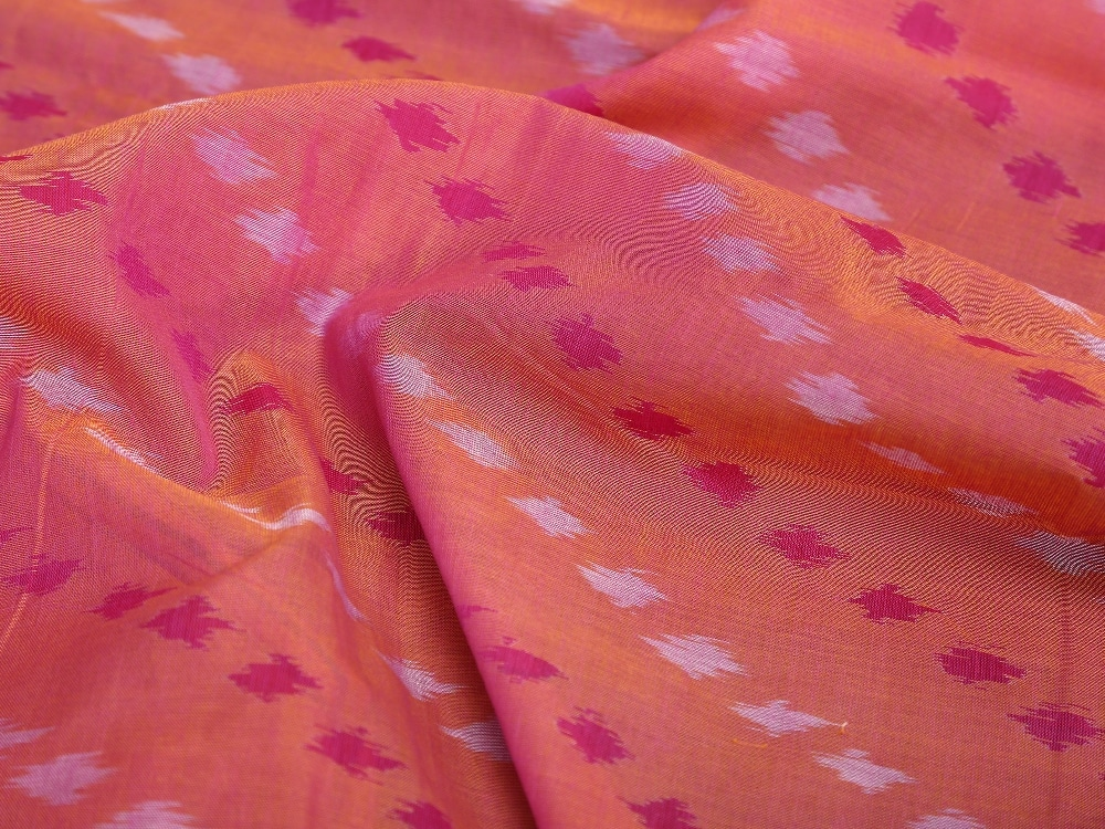 Pochampalli Sarees - Buy Pochampally Pure Cotton Ikat Saree