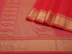 Handloom Pink South Cotton | Unstitched Blouse Piece
