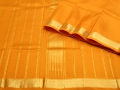 Handloom Orange Kumbakonam | Kumbakonam Kolors Collection | Unstitched Blouse Piece