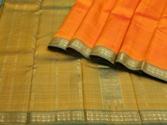 Handloom Blue Kumbakonam | Kumbakonam Kolors Collection | Unstitched Blouse Piece
