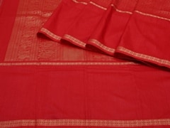 Handloom Red South | Textures of South Collection | Unstitched Blouse Piece