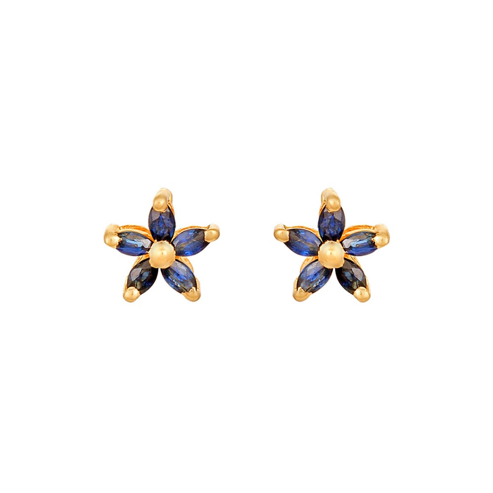 wrc gold sapphire studs y round earrings rd ct yellow stud s basement wall