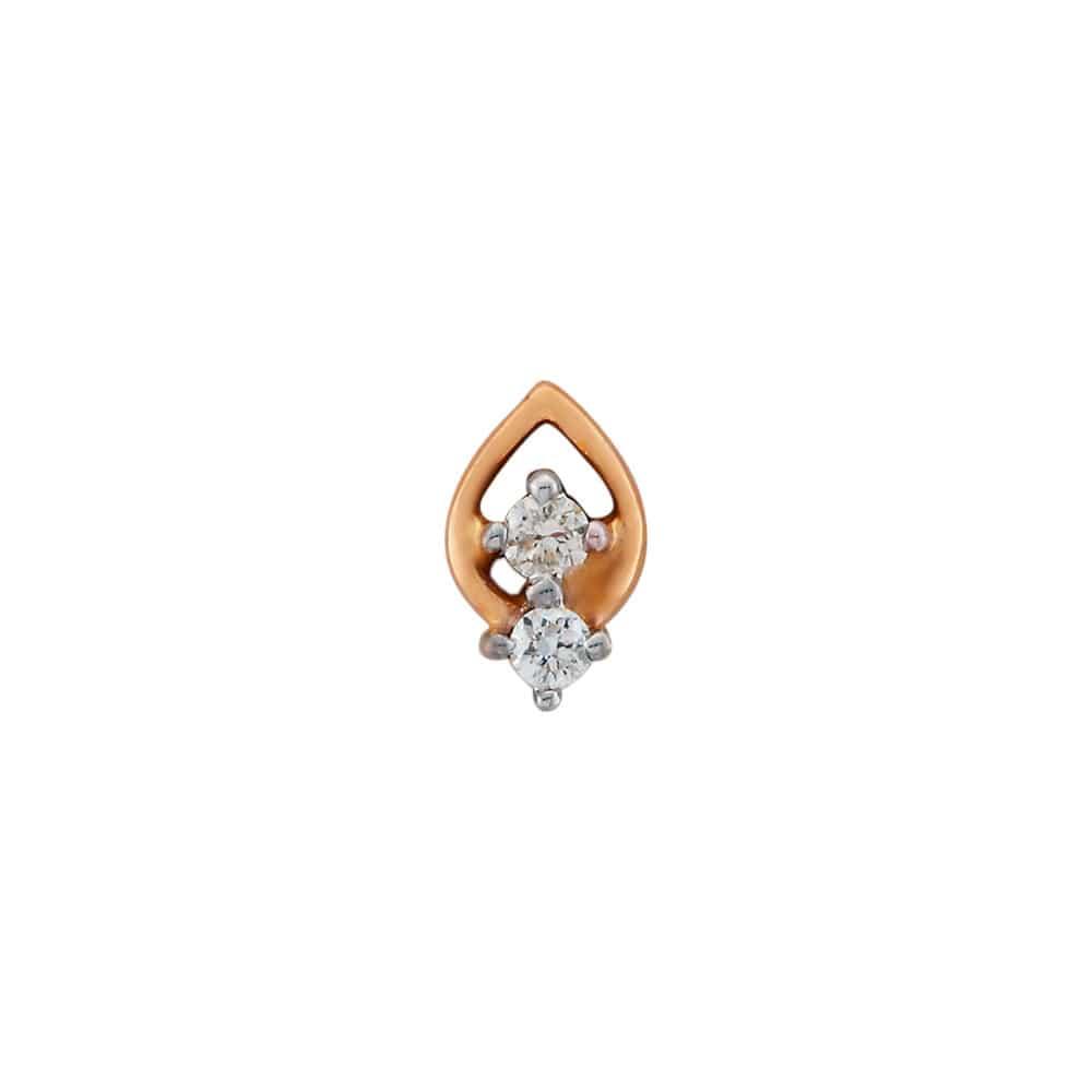 Buy Tanishq 18 KT Gold DIAMOND Nose Pin - 501145OAHABA02 for Women ...