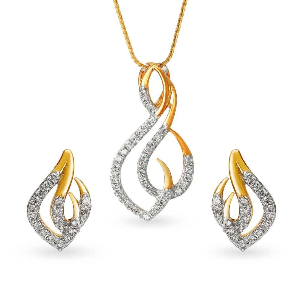 Buy tanishq gold pendant set for women 5021171mnaba02 shop online buy tanishq gold pendant set for women 5021171mnaba02 shop online at titan e store aloadofball Gallery