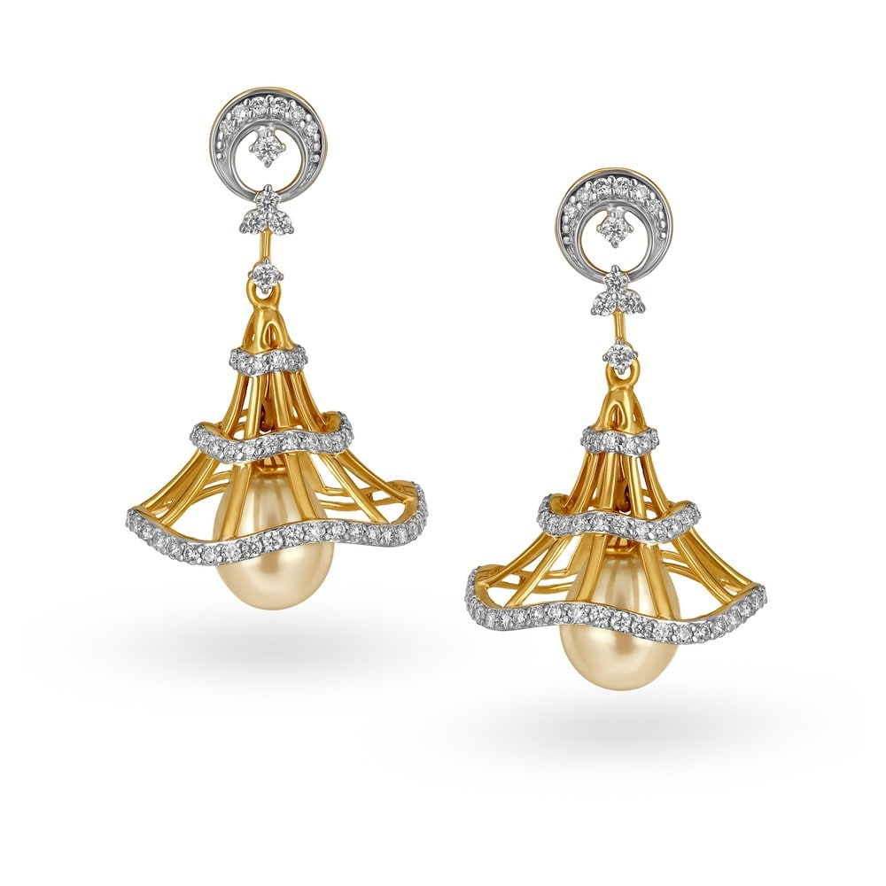 jewellery diamond diamondpeacock long jhumkas jhumka models designs