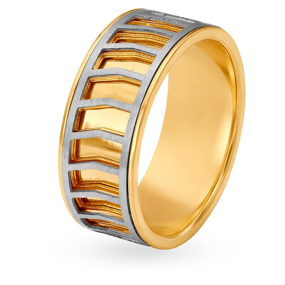 Buy Tanishq Gold Finger Ring for Men 502617FAKRAA00 | Shop Online at ...