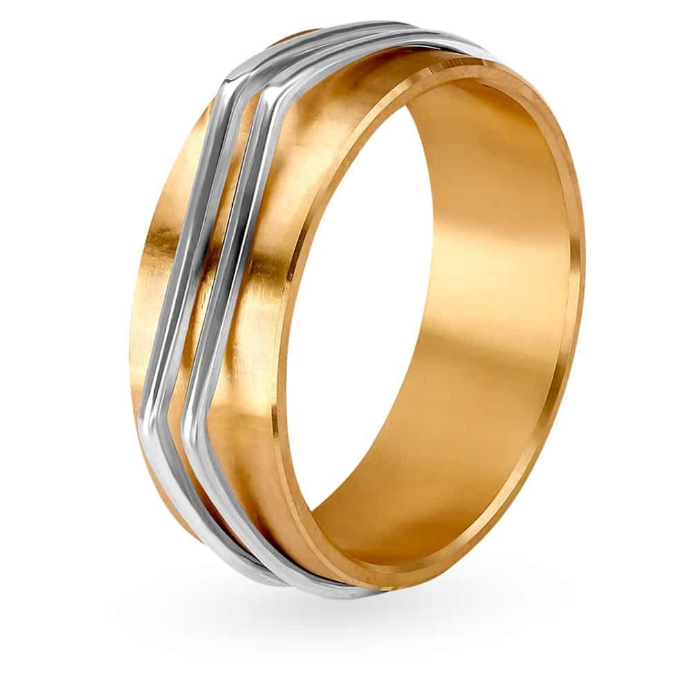 Buy Tanishq Gold Finger Ring for Men 502617FASRAA00 | Shop Online ...