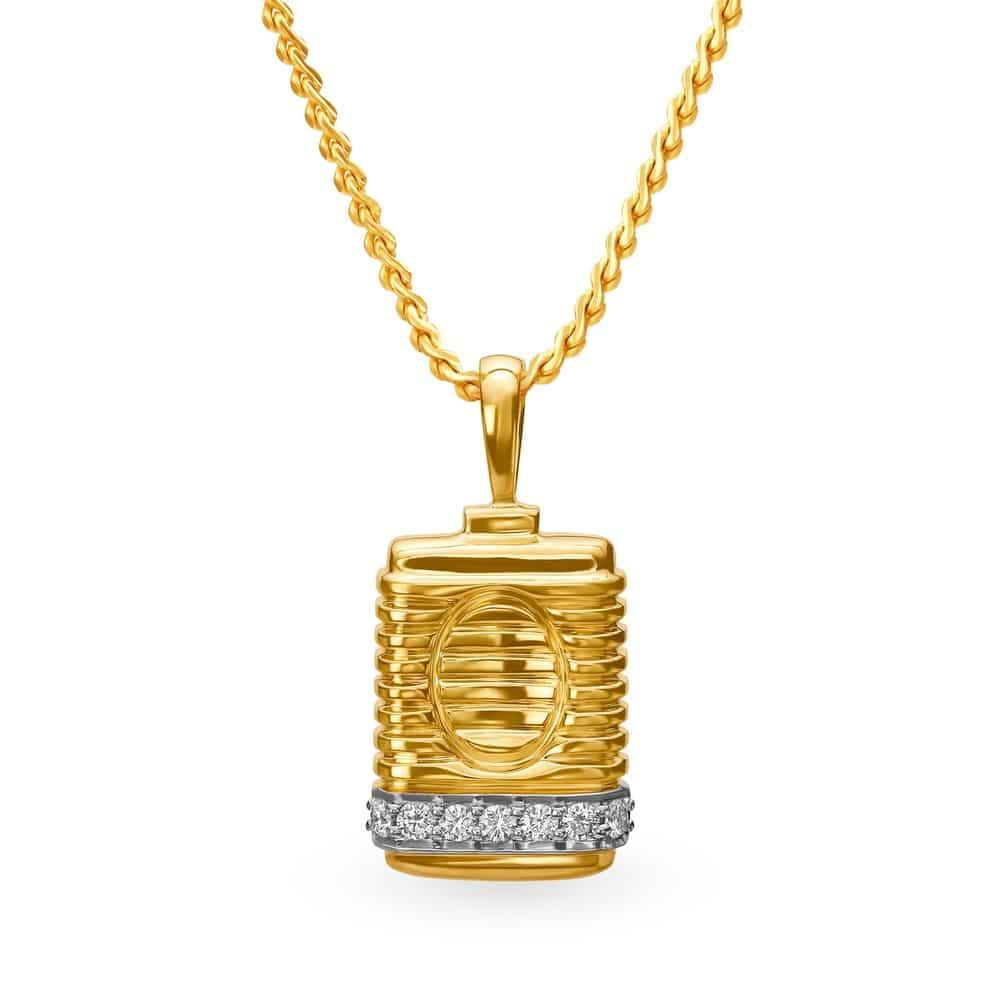 Buy tanishq gold pendant for men 502617pcbaaa02 shop online at buy tanishq gold pendant for men 502617pcbaaa02 shop online at titan e store aloadofball Choice Image