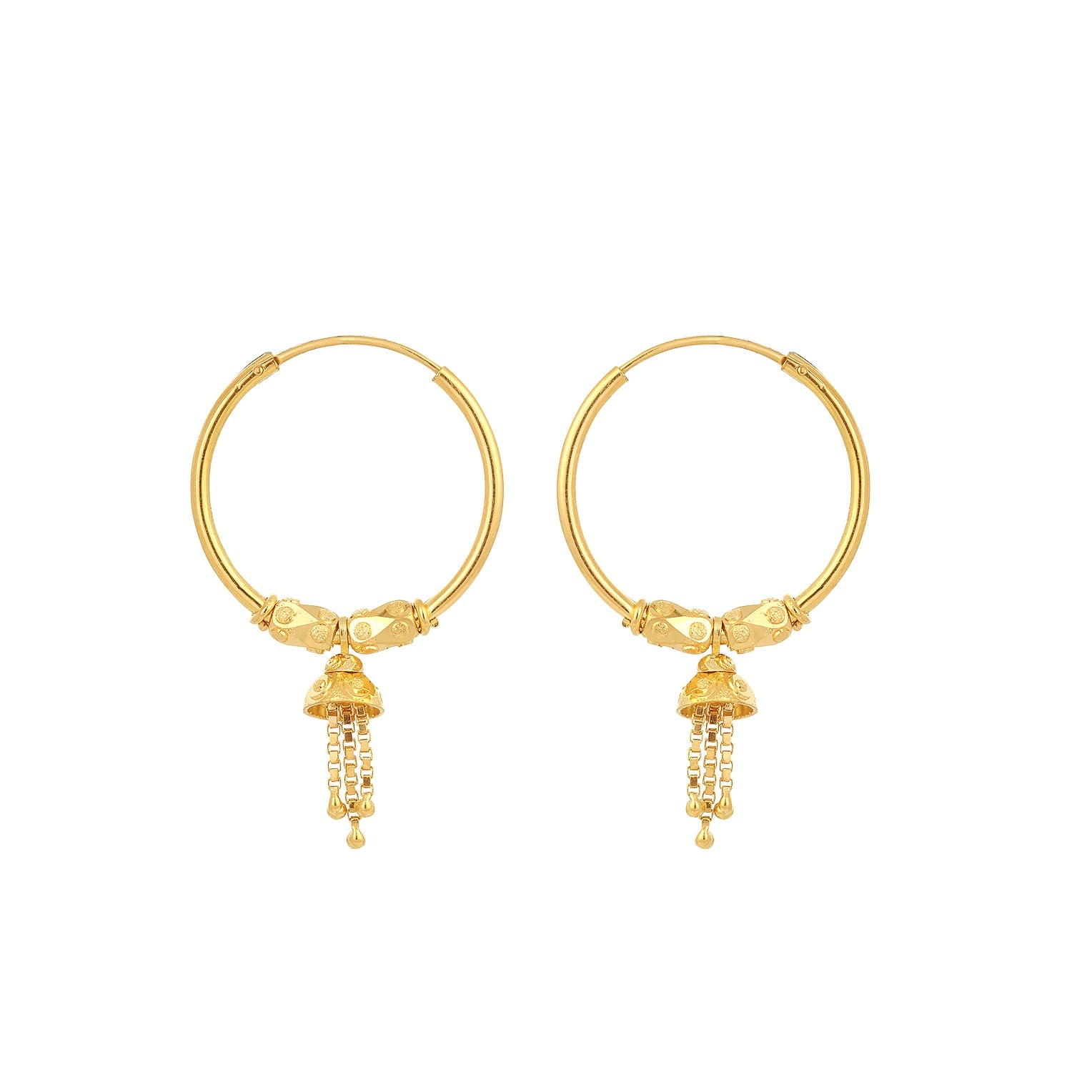Gold Earrings Models Tanishq - Best Earring 2017