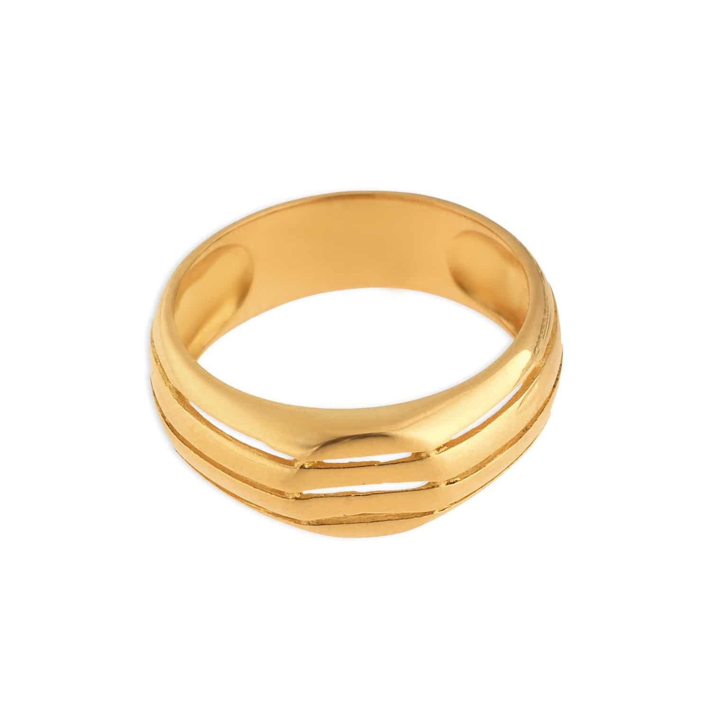 Tanishq 22KT Gold Finger Ring ID 510120FPASAA00 for Men Buy Online ...