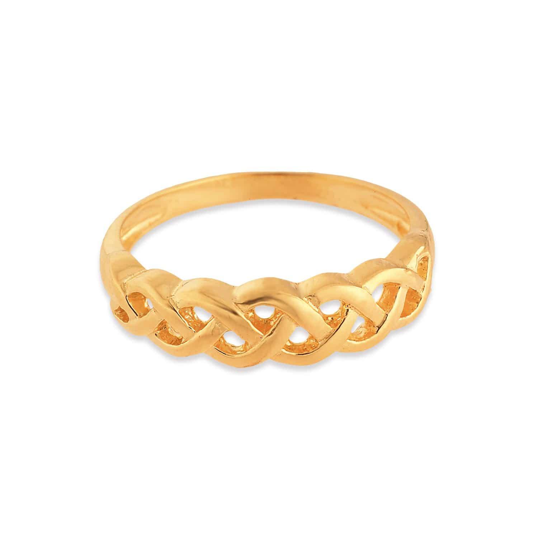 Tanishq Studded 22KT Gold Finger Ring for Men ID 510354FKANAA00 ...