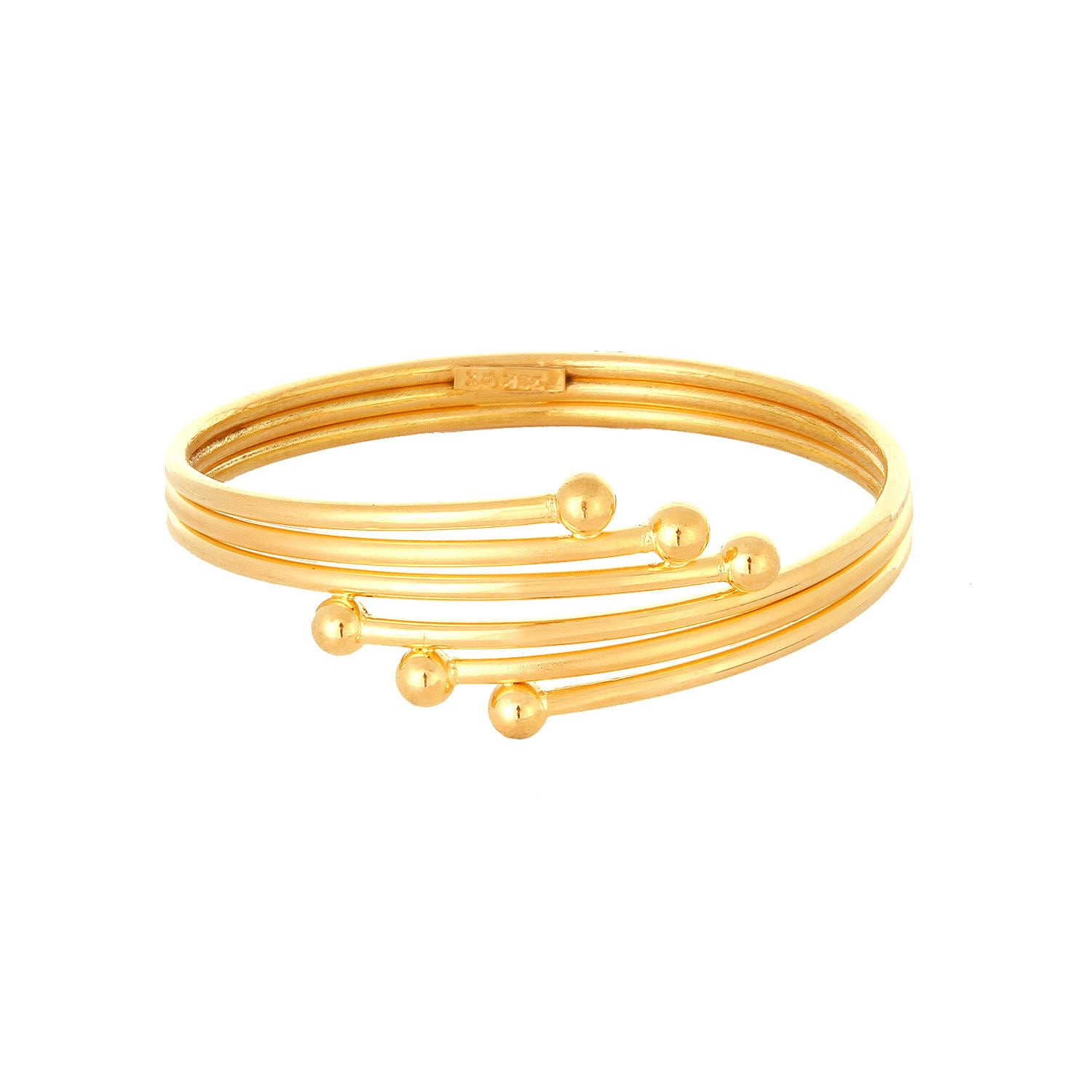 kt bangles bracelet tanishq online for buy kids product studded plain gold titan yellow id bangle
