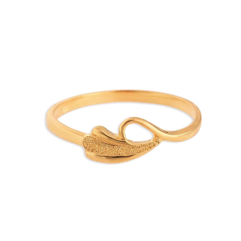 tanishq 22 kt gold finger ring id 510629fpalaa00 buy