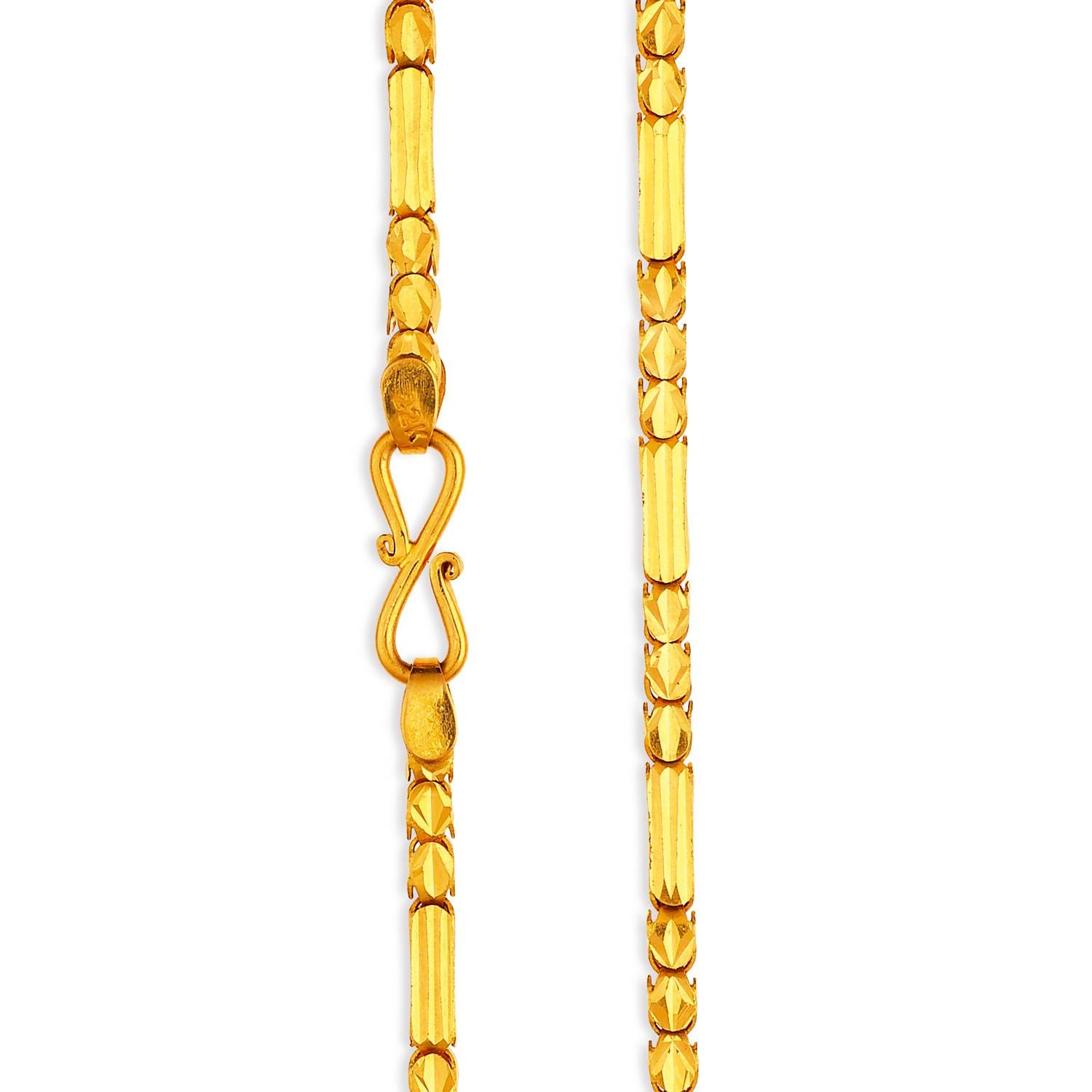 twist weight products gienia heavy gold double img yellow chain jewellery