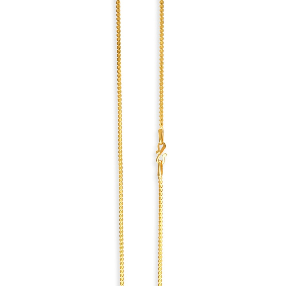 Tanishq 22KT Gold Chain ID 510950CCKECA00 for Women Buy ...