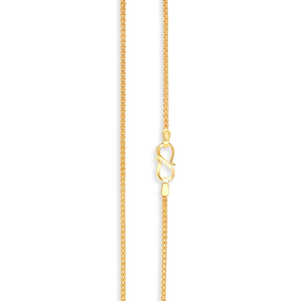 Buy Tanishq 22 KT Gold Chain ID 510975CHAGCA00 for Men @ Titan