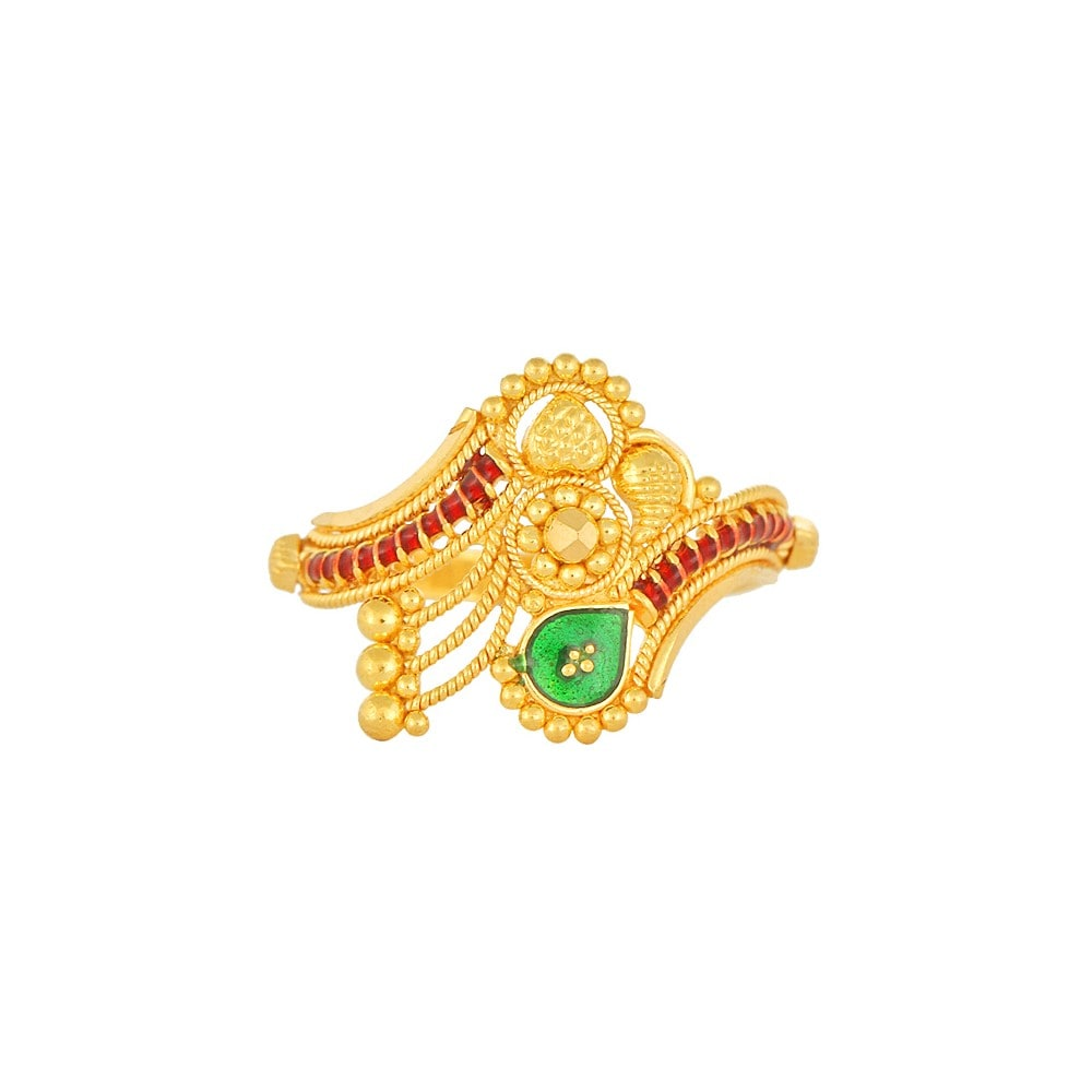 Buy Intricate Golden Tanishq Fingering for Women AT Best Price ...