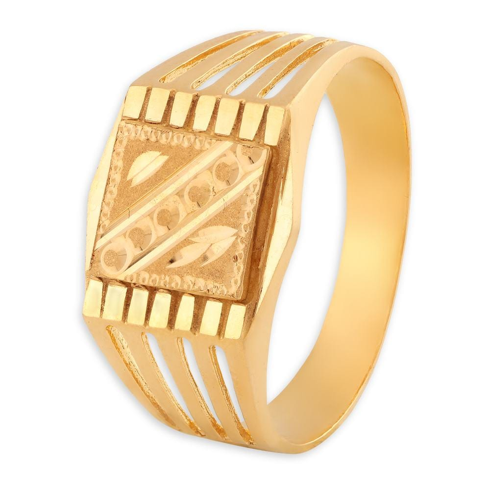 Yellow Gold Finger Ring