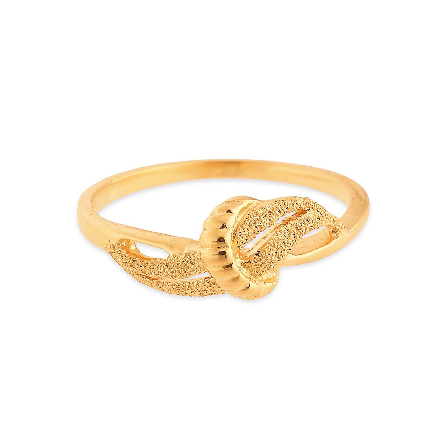Buy Tanishq 22 KT Gold Finger Ring - 511036FRPLAA00 for Women AT ...