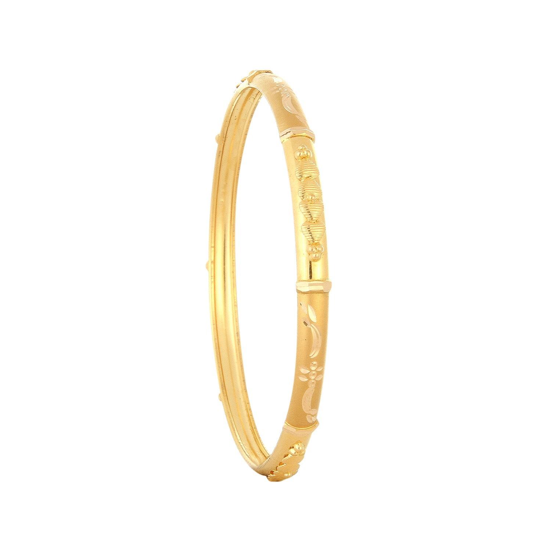 Buy Tanishq 22 KT Gold Bangle ID 511052VTBQ1A00 @ Titan