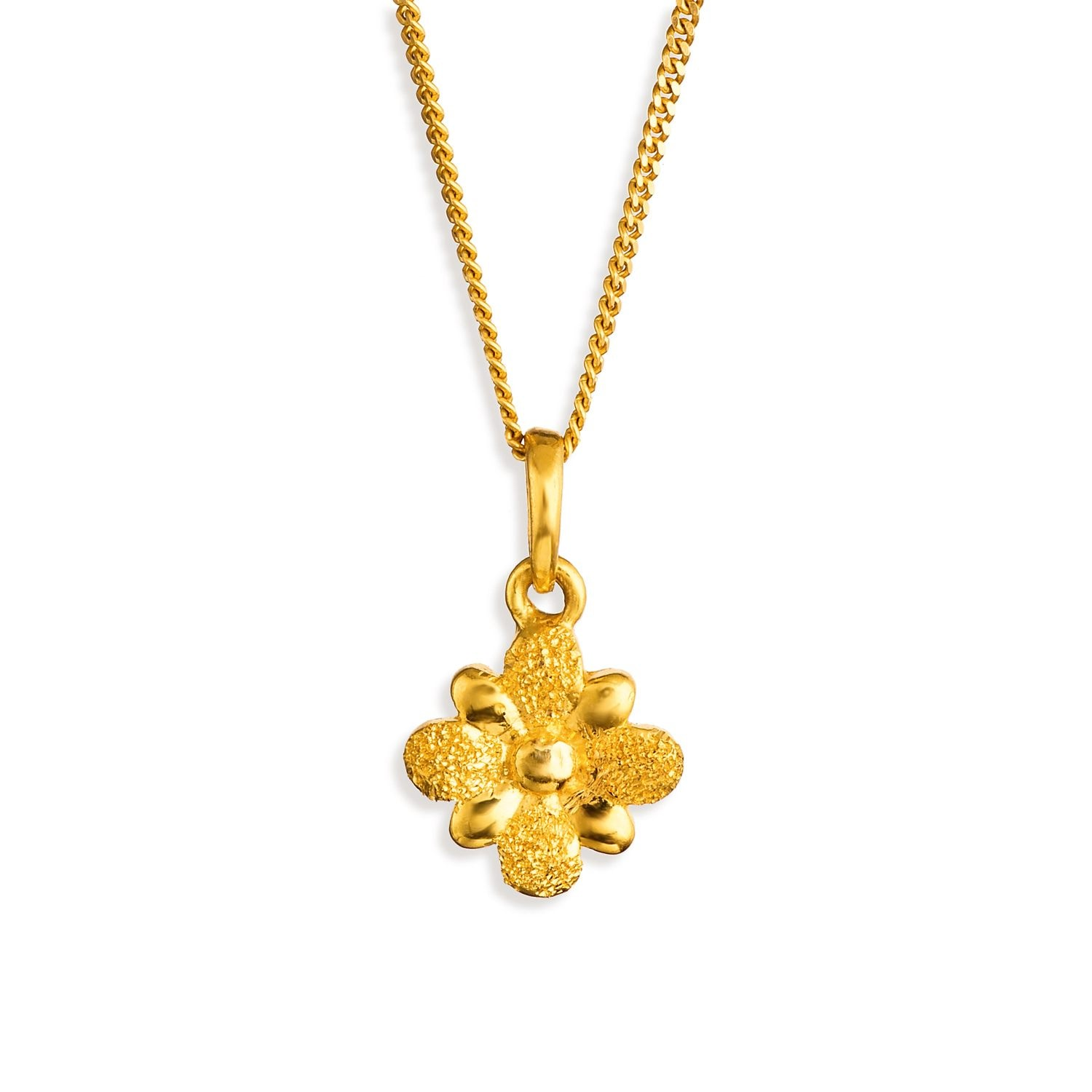 Buy Floral Gold Tanishq Pendant PBLAAA00 for Women AT Best