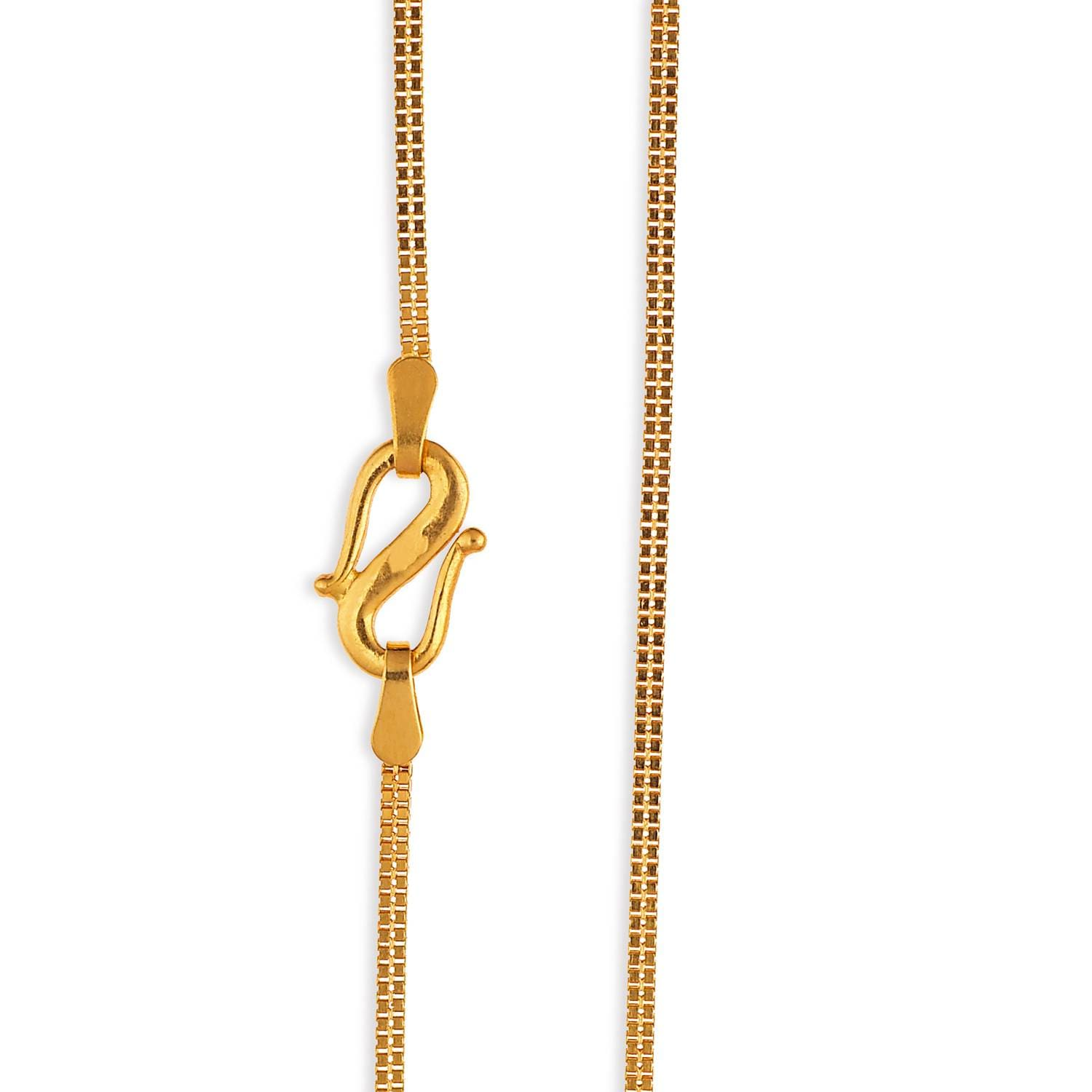 Buy Tanishq 22 KT Gold Chain ID 511107CTTEAA00 for Women ...