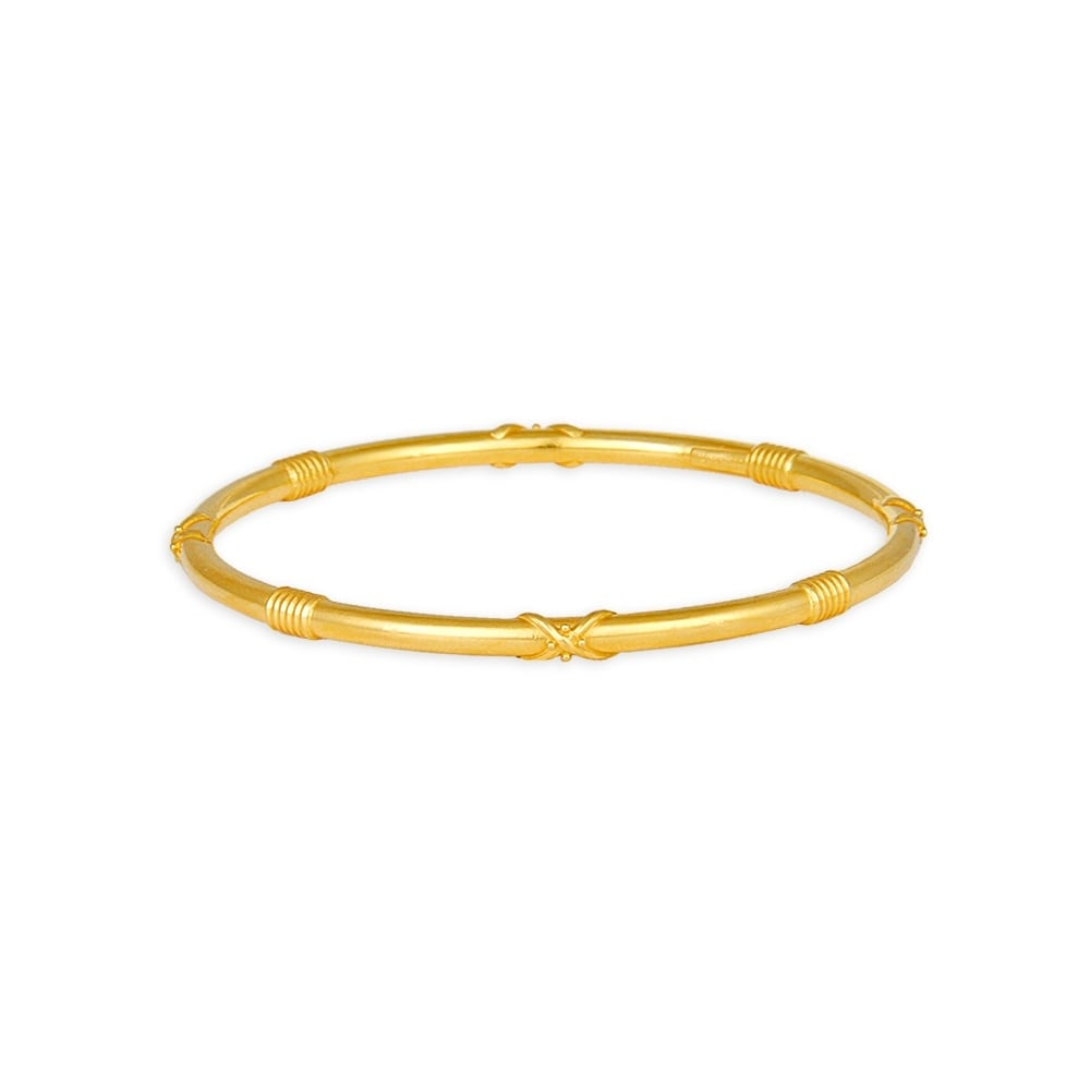 Bangles With Price: Buy Tanishq 22 KT Gold Bangle ID 511125VCFR1A00 For Women
