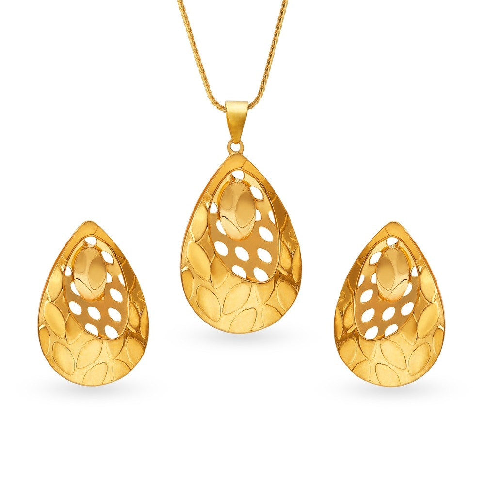 pendant gold gajalskhmi water indian product sets laxmi