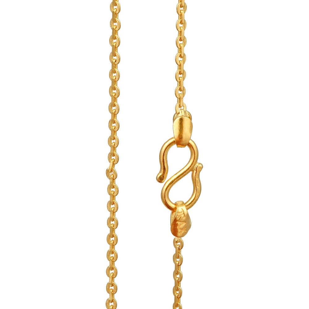 Tanishq 22 KT Gold Chain for Women ID 512814CGIEAA00 Buy ...