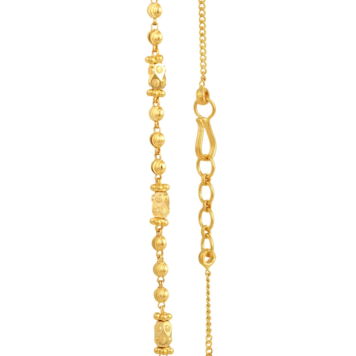 ladies itm gold yellow byzantine link ebay necklace chains img chain mens