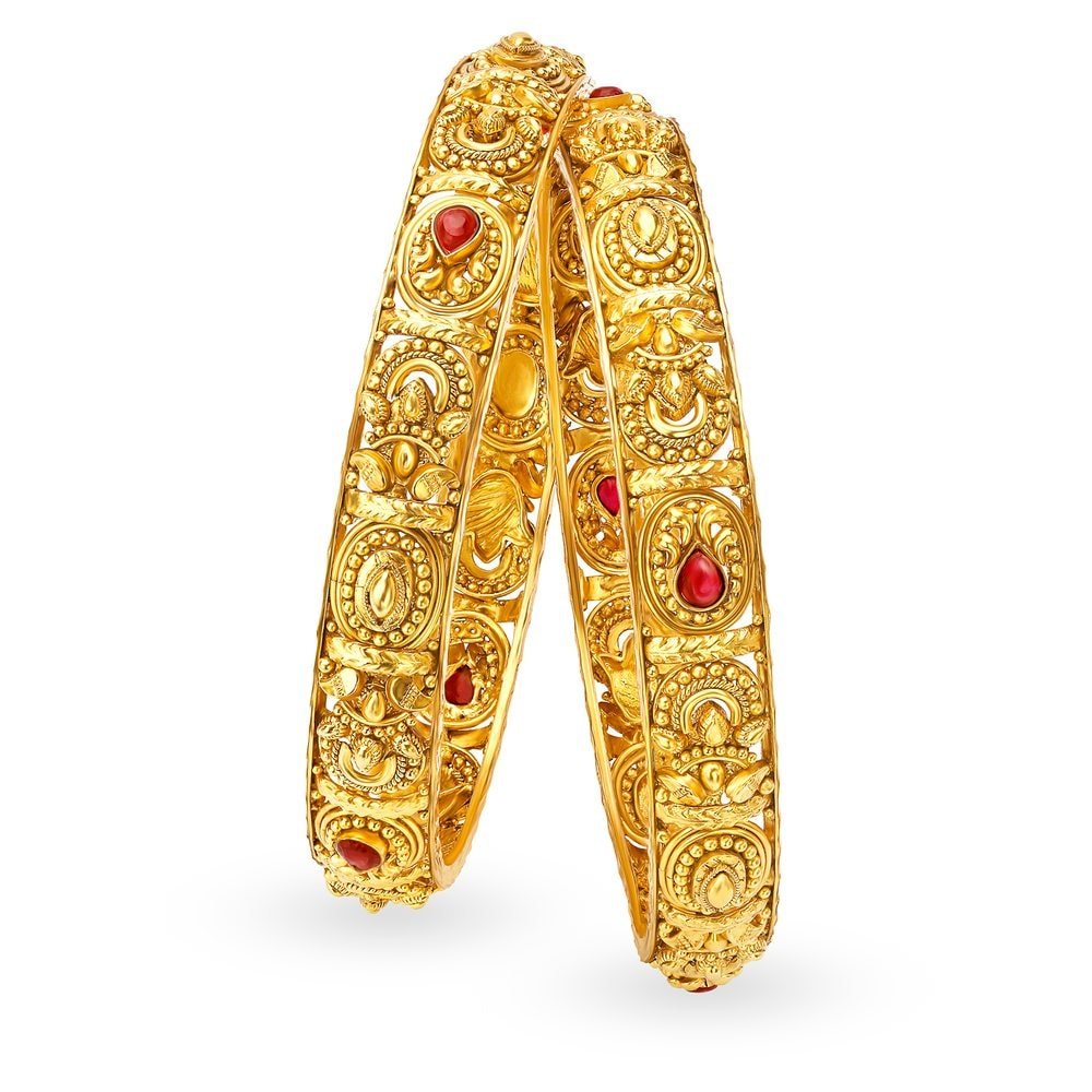 in gold bangles baby yellow bangle expandable