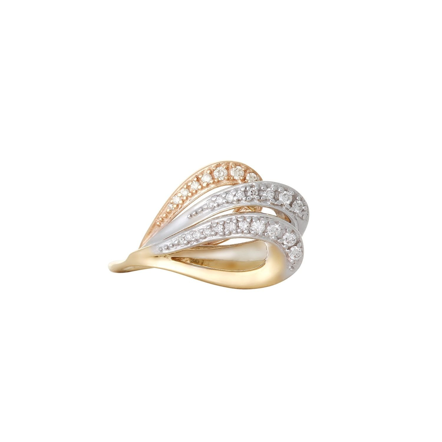 Buy Amazing Gold and Diamond Tanishq Finger Ring 552811FAHMAA22 for ...