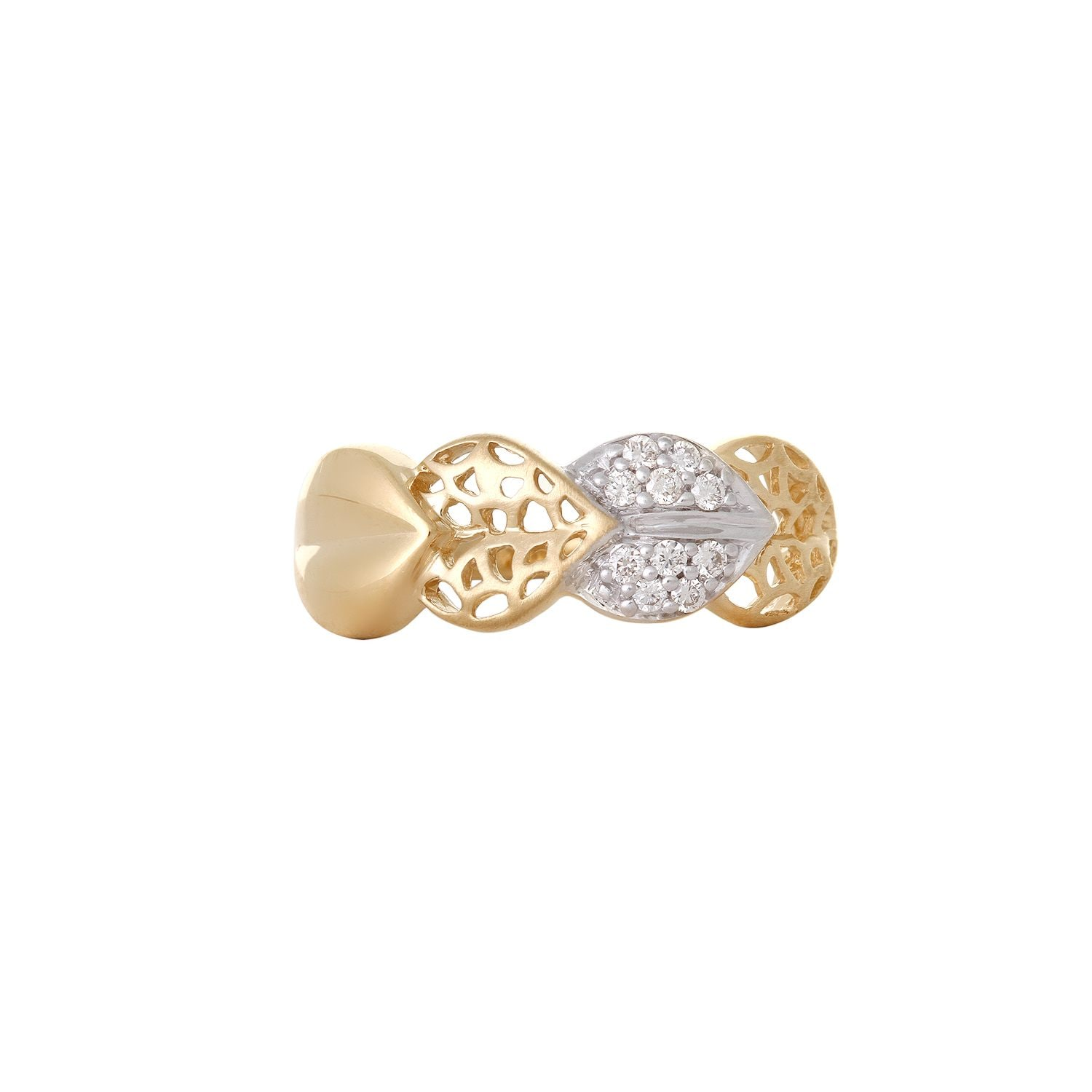 Buy 14kt yellow gold finished Finger ring with brilliant cut ...