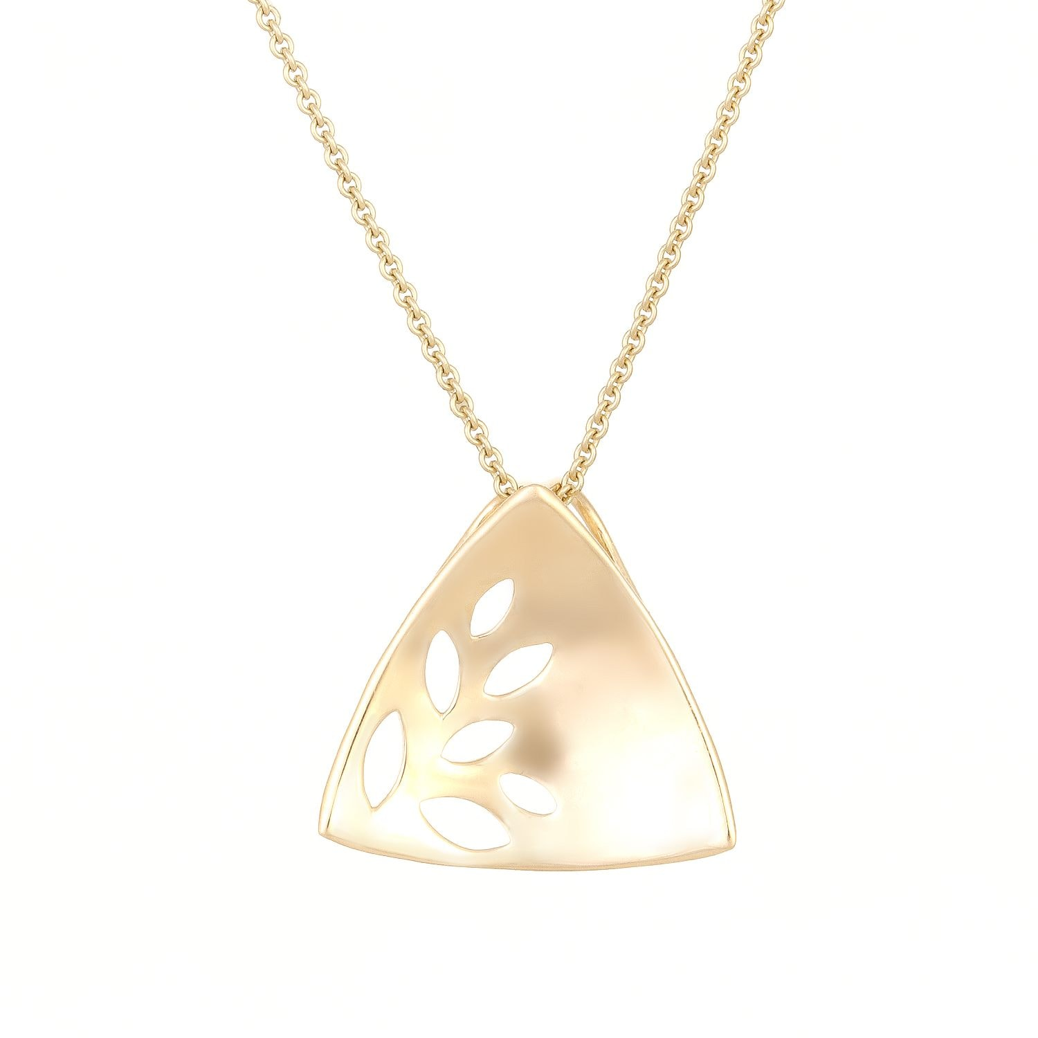 pendant rose triangle gold women triangular plated greed zoom swarovski john necklace delta