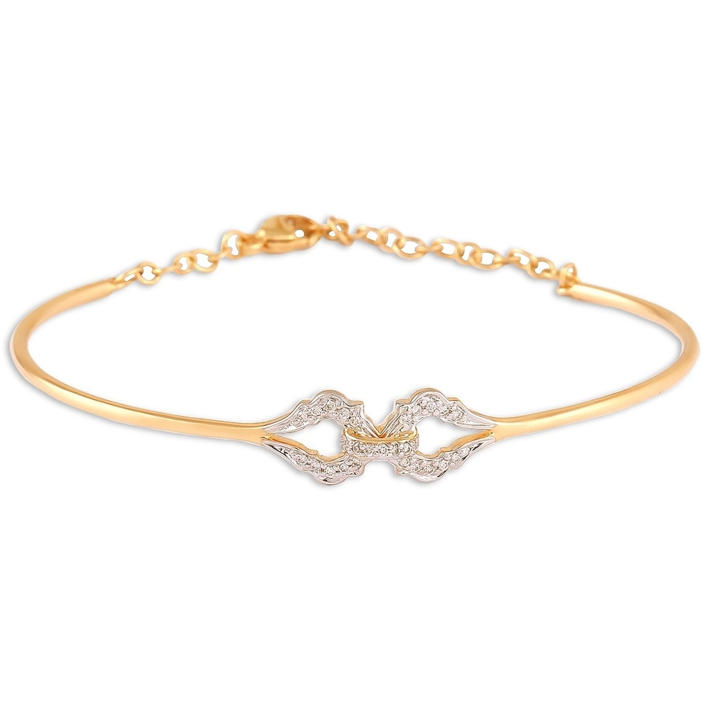by bangles horseshoe solid gold nail carat ar ch juwelenkammer jewelry chevalier bangle bracelet