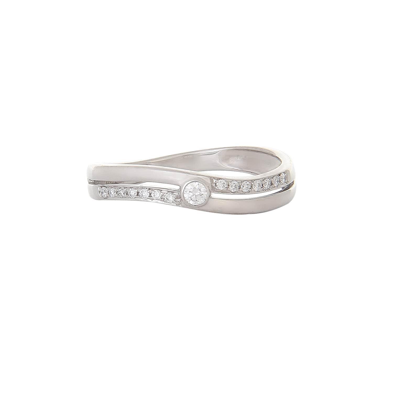 buy dazzling platinum and tanishq finger ring